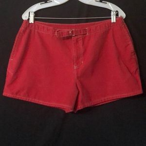 Old Navy Deep Red Shorts